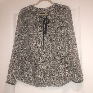 Talbots long sleeve blouse